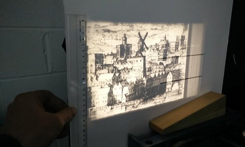 camera as projector