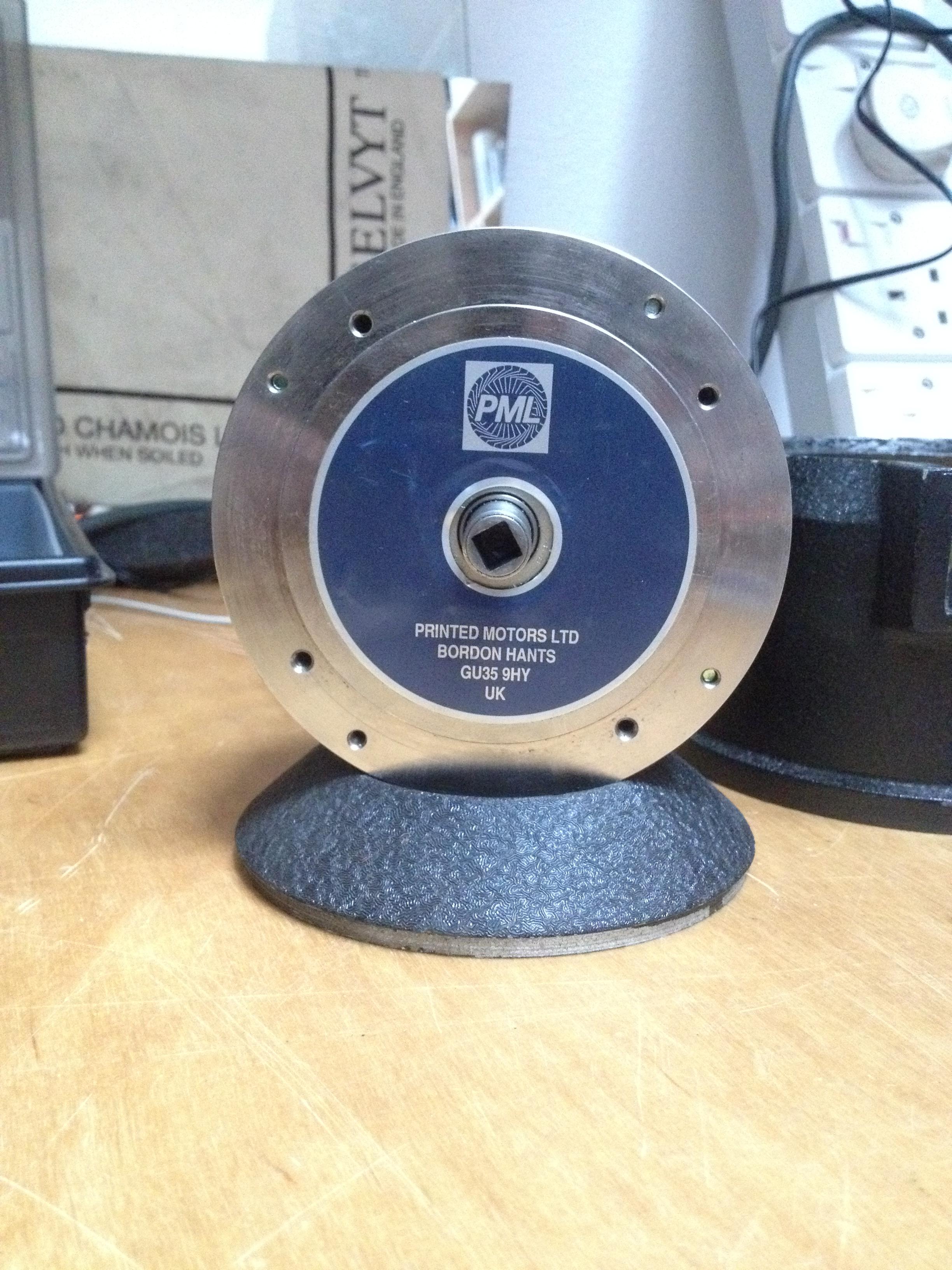 Printed Armature motor